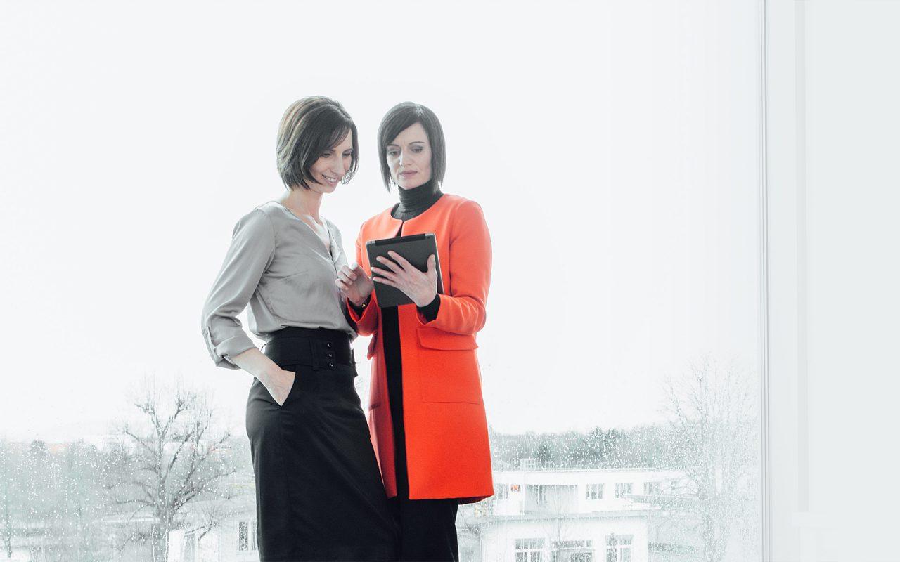 Eleonora Klein und Corinna Pfoh