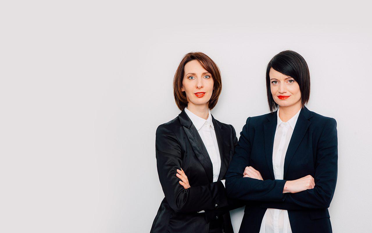 Steuerberaterinnen Eleonora Klein und Corinna Pfoh